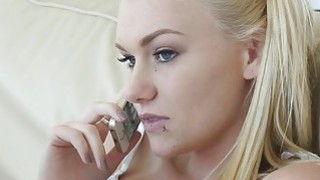 Naughty girl Jessie Young fuck behind