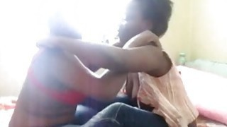 First time ever in front of a camera for these african lesbians