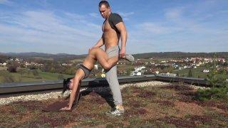 Merging Yoga With Sex - German Porn