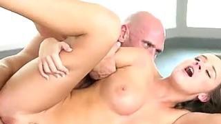 Puffy tits babe Alexis Adams sensual sex