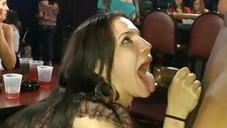 Alluring banging delights with chick spectators