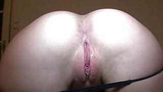 Darling sucks on chaps giant knob like a whore