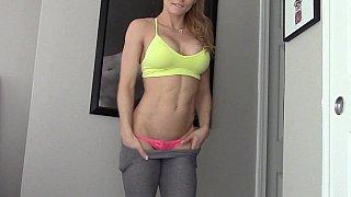 Sports bra seduction