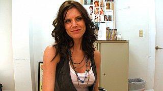 Cute Violet Raye interviewed by BangBros