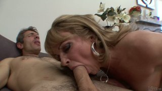 Sleepy nympho Shayla Laveux sucks a delicious and hot tool for cum