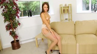 Lacey Jay Layered Nylons